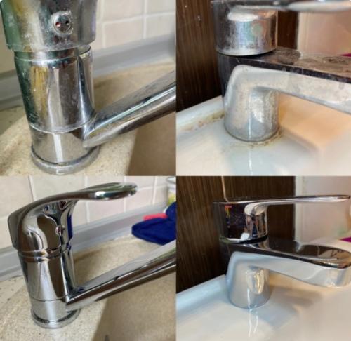 Гениальное просто: показываю, как отмыть от известкового налета поддон для сушки посуды, изображение №5