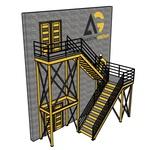 Пожарная Эвакуационная Лестница П2-1