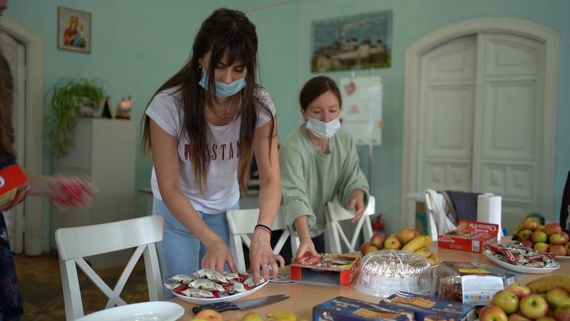 Добровольцы кинокомпании «Союз Маринс Групп» посетили «Дом для мамы», изображение №6