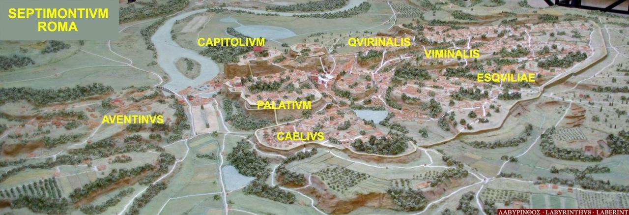 Семь Холмов Рима 🇮🇹