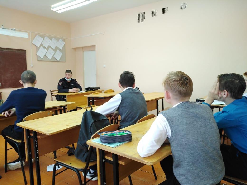 20 ноября в Большеучинской средней школе прошёл