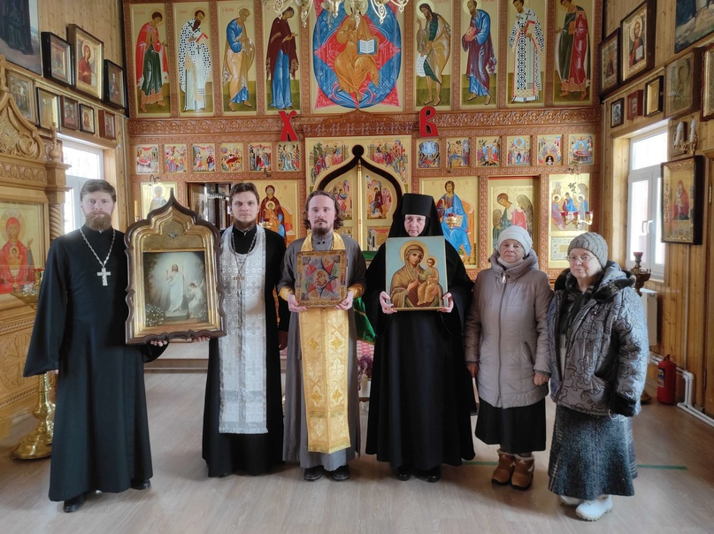 97 лет спустя иконы вернулись в монастырь, изображение №1