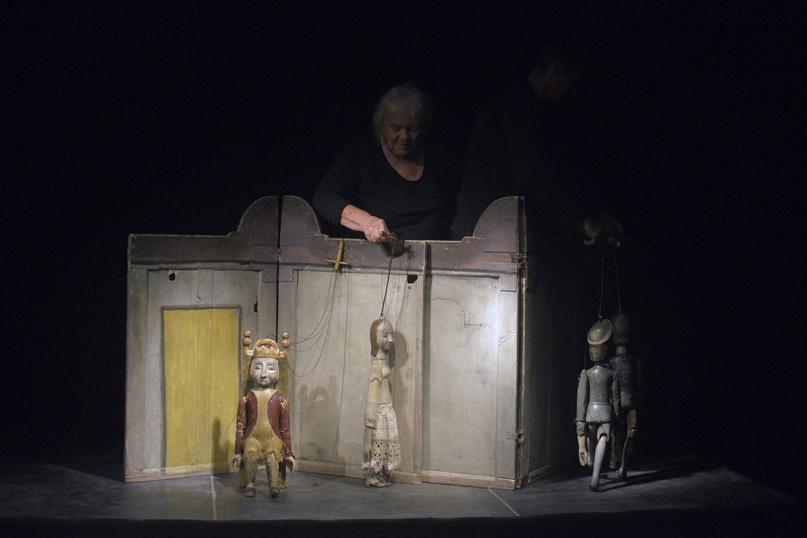 Спектакль «Звездоглазый пастух» Theater am Faden