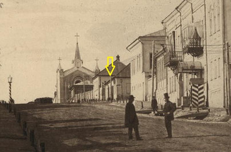 Фрагмент фотографии Фельдмана 1863 года.