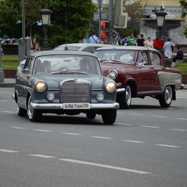 06.06 Ралли на Семи Холмах. Mercedes Classic Day