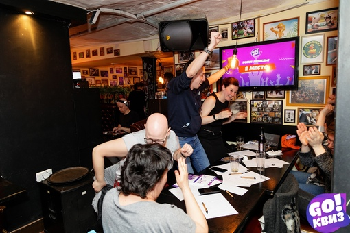 «GO!Квиз №102.2, Duckstars Bar, 29 апреля» фото номер 121