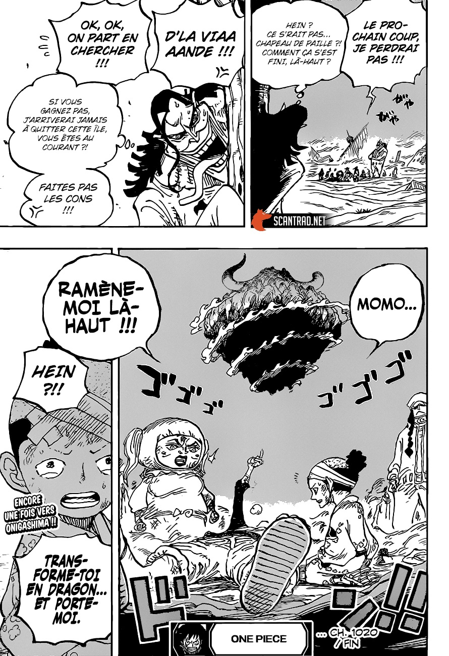 One Piece Scan 1020, image №18