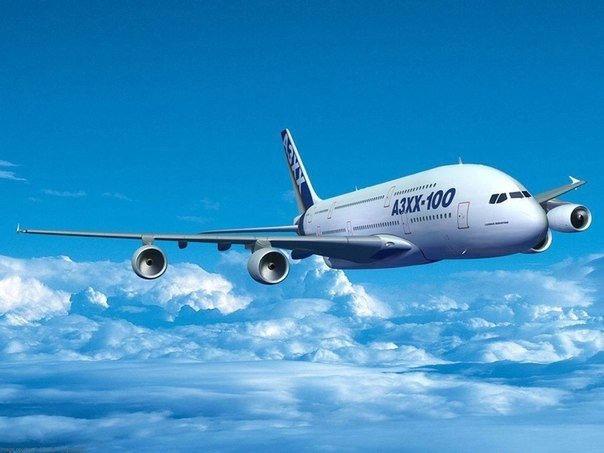 Путешествие на самолёте (Travelling by plane)