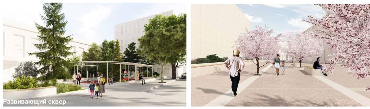 Курян приглашают оценить проекты архитектурно-художественной концепции улицы Ленина