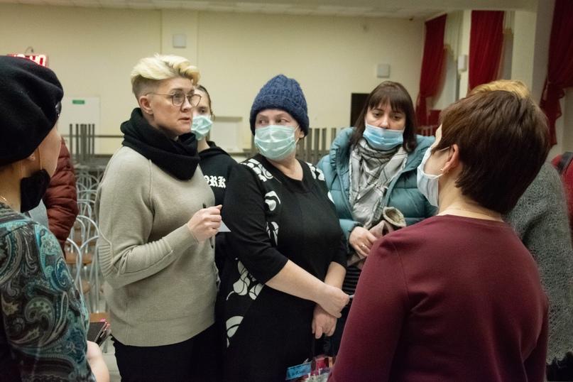 Представители городских медучреждений встретились с 11-классниками, ориентированными на медицинские специальности, изображение №6