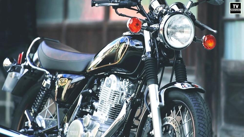 Мотоцикл Yamaha SR400 Final Edition 2021 анонсировали в Японии