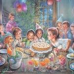 Самый лучший день в году! — короткие стихи про день рождения для детей