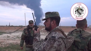 Полковник Сухейль аль-Хасан руководит уже под Пальмирой (18 марта 2016) :