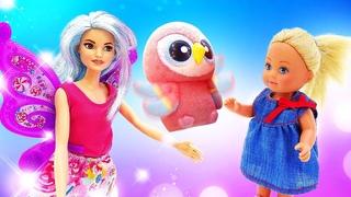 Кукла Барби игры одевалки - Волшебные приключения Штеффи! - Видео сборник для девочек онлайн