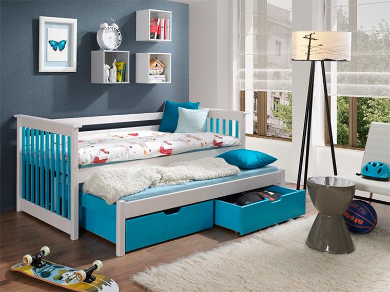 Плюсы и минусы двухъярусных выдвижных кроватей, популярные дизайны, изображение №10