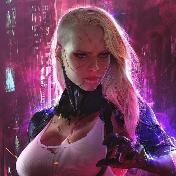 Cyberpunk Rule Fan Art Nerd 1