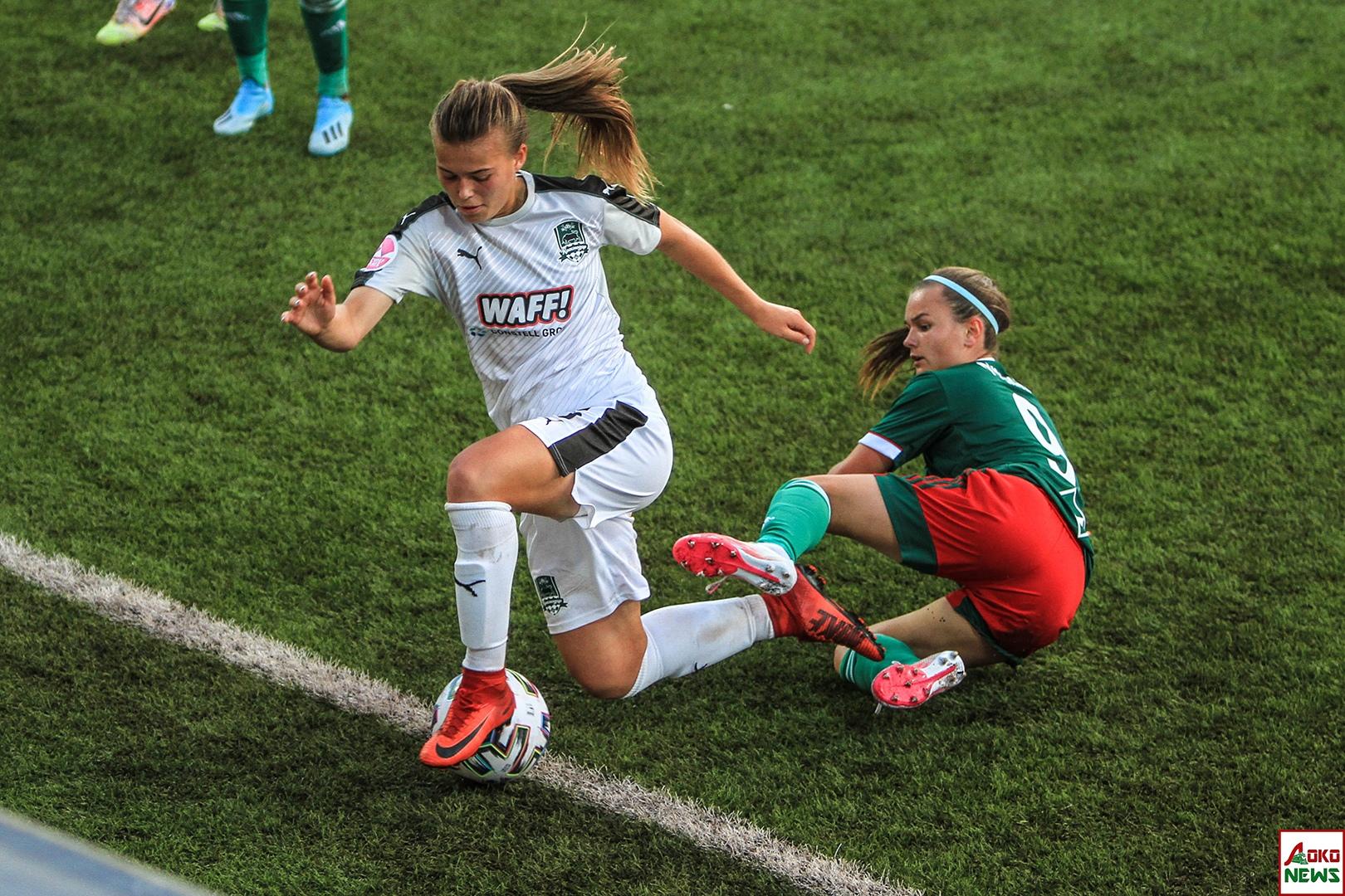 ЖФК Локомотив - ЖФК Краснодар. Фото: Дмитрий Бурдонов / Loko.News