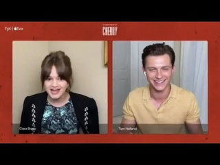 Tom Holland and Ciara Bravo Talk About The Cherry Movie | Live Q&A Panel