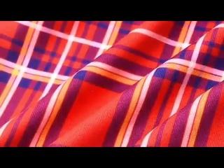 Платья для мамы и дочки, летние платья для мамы и дочки, красное клетчатое трикотажное платье с длинными рукавами, платье для