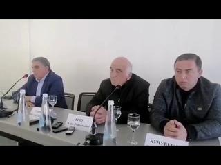 Гарри Саманба на пресс-конференции в «Атриум Виктория» высказался по делу Ахры Авидзба