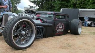 Hot Rod-Badass Rat Rod,the most stunning Hot Rod.