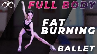 FAT BURNING full body BALLET CARDIO workout with CORE burnout from Maria Khoreva