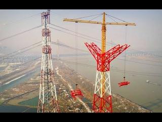 Сильвер Систем, Строительство самых высоких ЛЭП в Китае