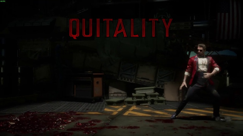 Mortal Kombat 11 JOHNNY CAGE QUITALITY | 1080p 60fps