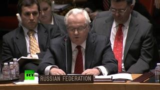 Виталий Чуркин отчитал постпреда США при ООН