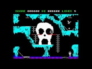 The Goonies (1986 / 128k AY Music Version) Walkthrough, ZX Spectrum