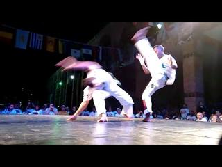 Erick e Esfera - Jogos Mundiais 2015 Abad Capoeira