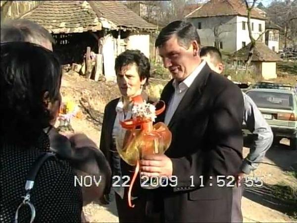 Svadba u selu Sljivova Obicaji Radjevine Dobrivoje i Dobrila Pantelic