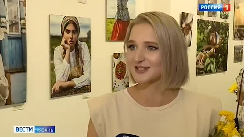 Репортаж 1 канала Модель Дарья SIGMA Рязань