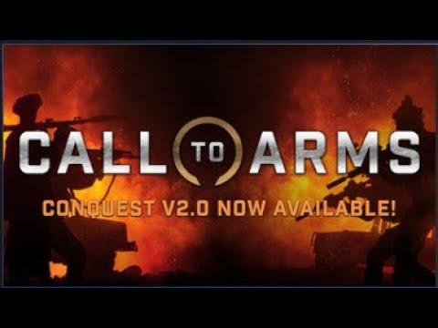 Call to Arms Conquest V2 0 краткий обзор патча 1 205