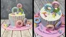 Donut (Doughnut) Cake | Drip Cake | Tie Dye Cake