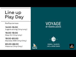 17/10 VOYAGE by MARMELADOVA Live on Crimea / Alushta