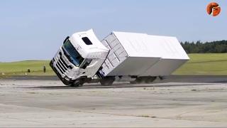 Best TRUCK CRASH TESTS for Safer Roads // New Truck Technologies // Off-road Tests