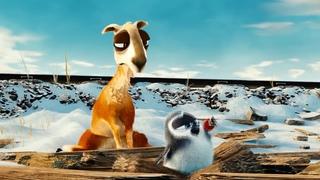 Смешной короткометражный мультфильм Лама Драма и Пингвин