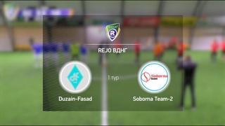 Обзор матча Duzain Fasad 1-8 Soborna Team 2  Турнир по мини футболу в городе Киев