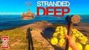 Нашёл огромный затонувший Корабль Stranded Deep