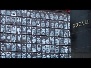 в Азербайджанцы почтили память жертв Ходжалинской трагедии