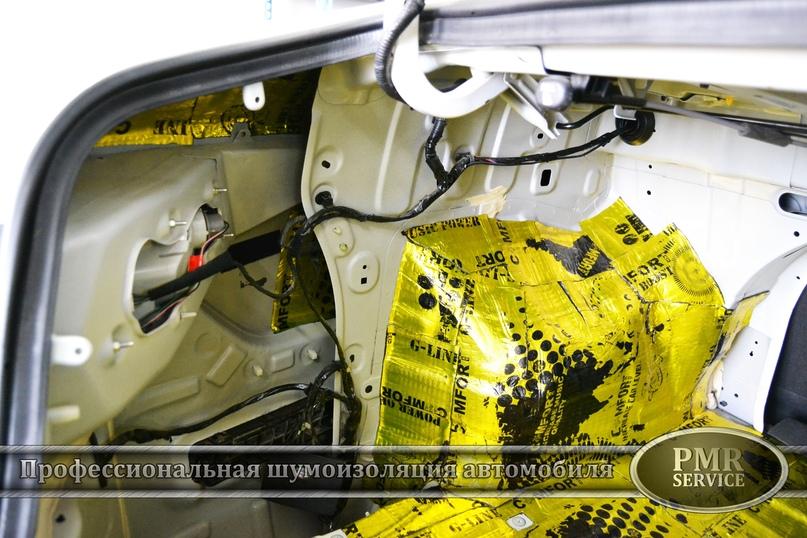 Комплексная шумоизоляция Hyundai Sonata, изображение №8