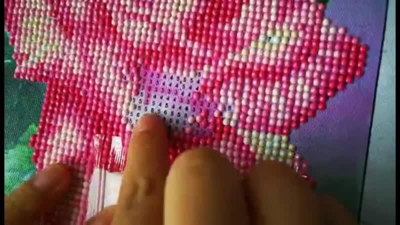 5D алмазная картина DIY пейзаж цветок цвет роза Алмазная