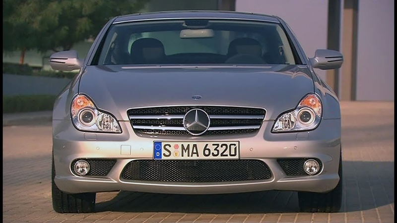 2008 Mercedes CLS 63 AMG C219 design and driving