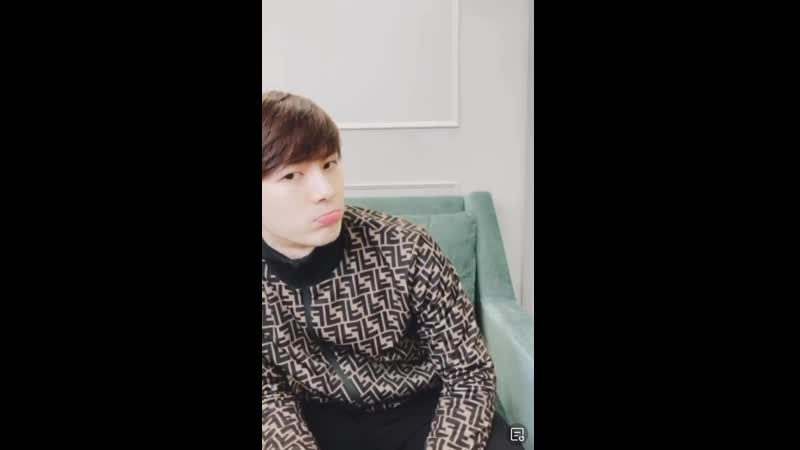LITERALLY JUST JACKSON POUTING FOR IDK HOW LONG