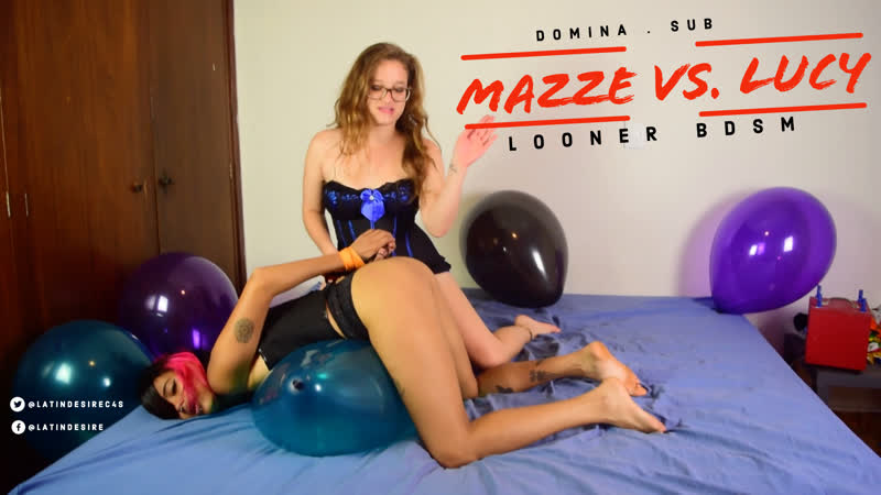 Mistress Mazze Vs Slave Lucy on Looner BDSM is on 106942 ** 4K and 1080P