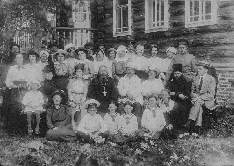 Семья Хаминовых. 1900-е г. СИХМ Ф 843