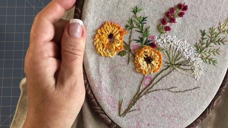 Вышиваем гордиев узел или декоративные швы для начинающих