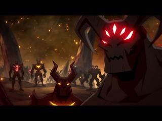 When the DOOM music kicks in [Scorpion's Revenge]