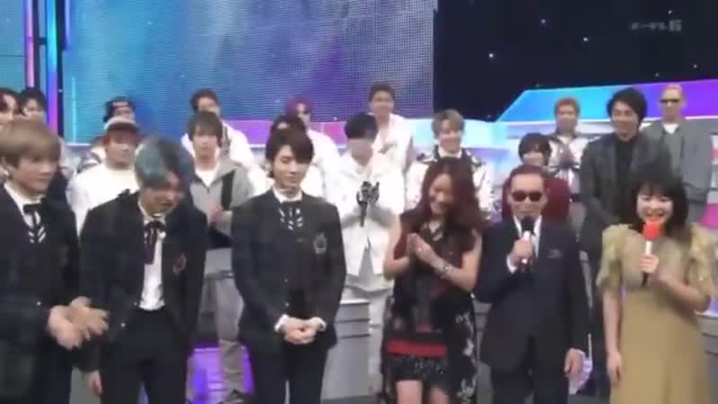 Its so cute how the MC asked them when the show was about to end and TOMORROW X TOGETHER ️ it was really fun thank yo